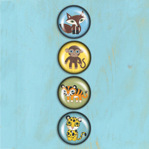 Animals Magnets - 4 pack