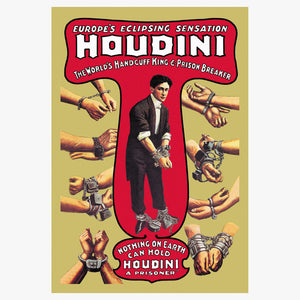 Houdini Wall Graphic 12x18