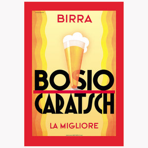 Birra Bosio Wall Graphic 24x36