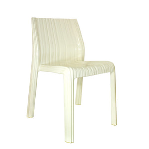 Frilly Chair White