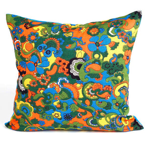 16 x 16 Vintage Fabric Pillows