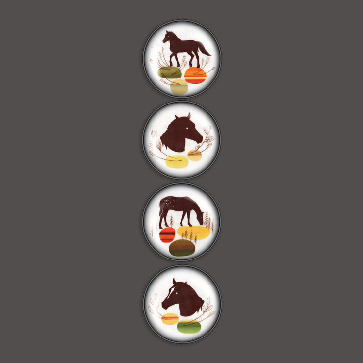 Amy Ruppel Horses 4-Pack