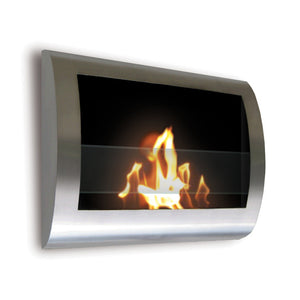 Chelsea Indoor Fireplace Steel