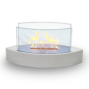 Lexington Fireplace White