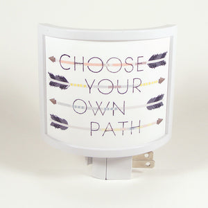 Choose Your Path Night Light