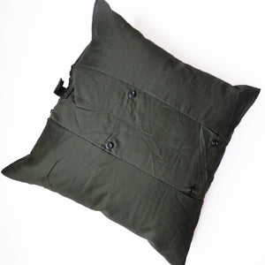 Center Panel Throw Pillow