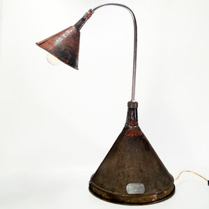 Double Funnel Lamp