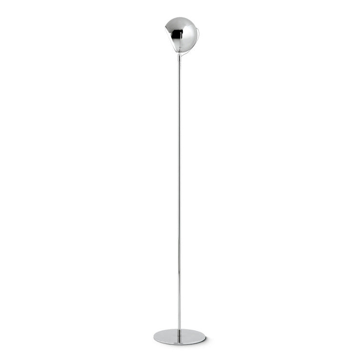 Beluga Floor Lamp Chrome