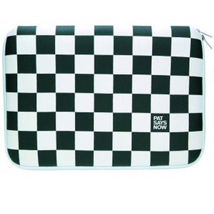 Checkered Flag 13\ Laptop Sleeve""