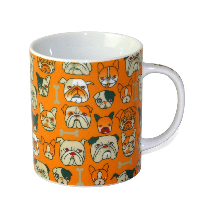 Bulldogs Mug Orange