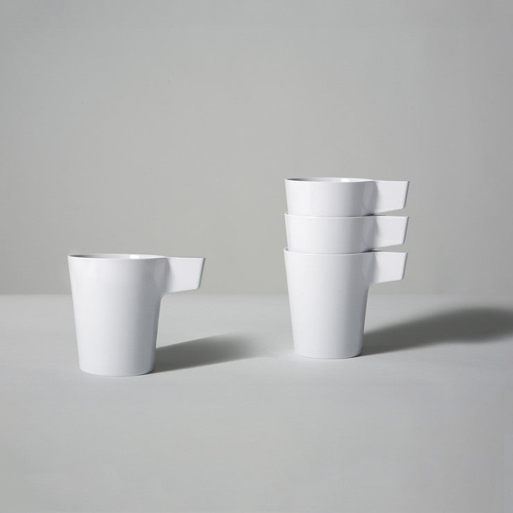 Avion Cups White Set Of 4