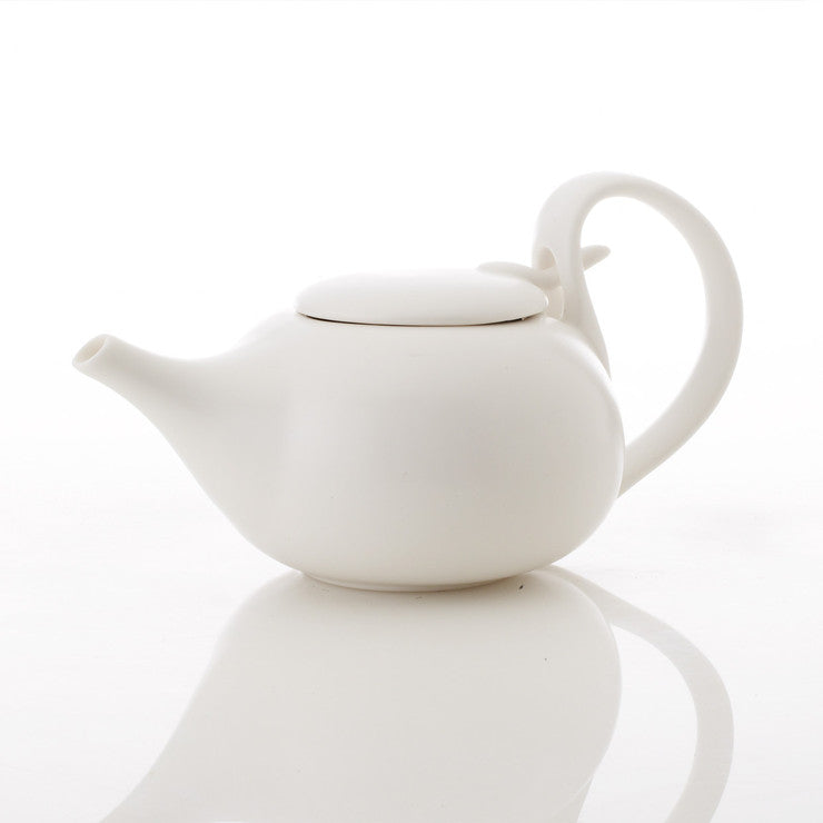 Japanese Tea Pot White 28oz