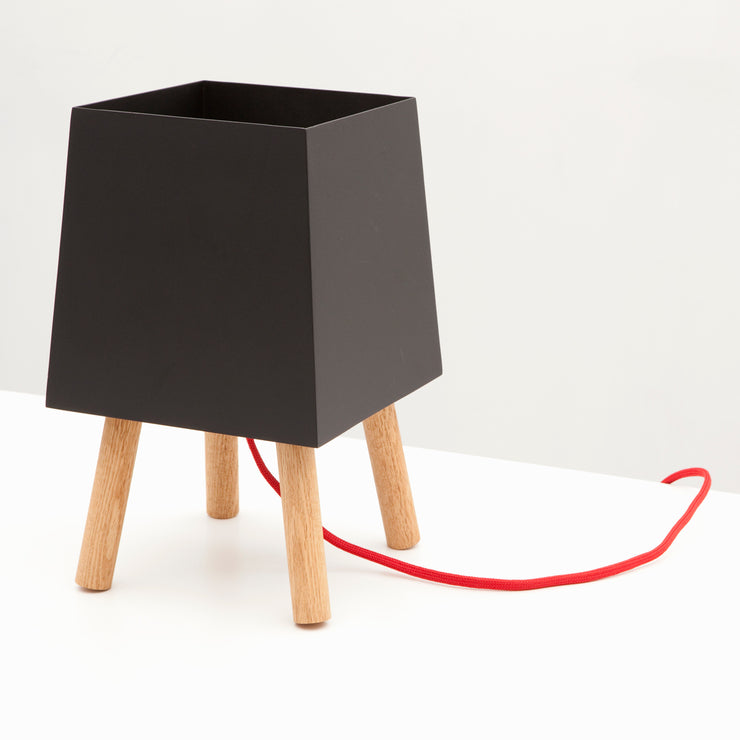 Black/Red Table Light