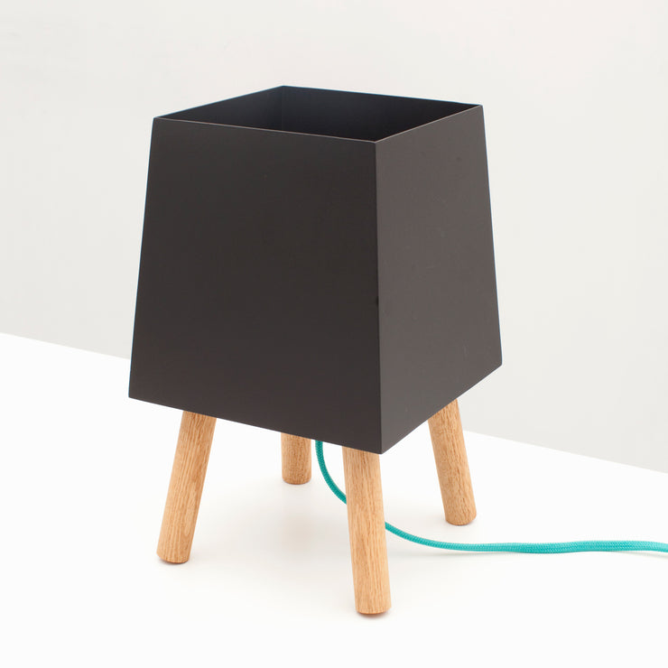 Blk/Turquoise Table Light