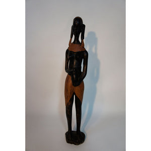 African Tribal Woman Figurine