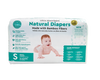Little Toes Disposable Biodegradable Bamboo Diapers - 36 Pack