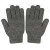Digits Touchscreen Gloves (S/M), (L/XL) in dark and light gray