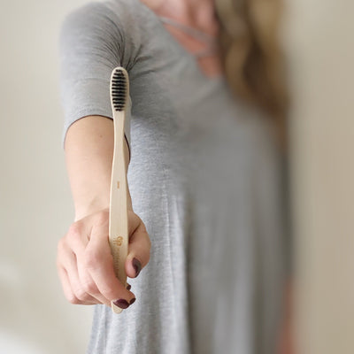 Bamboo Charcoal Toothbrush