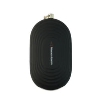 Portable Personal Security Alarm Panic Button + LED Light - Matte Black