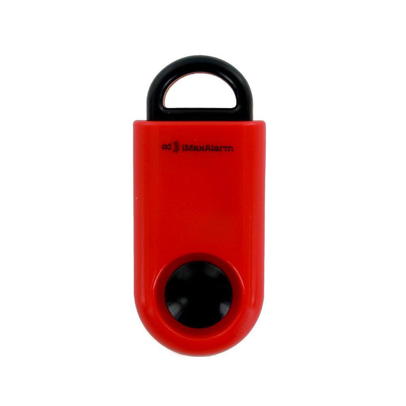 Portable Personal Security Alarm - Red-Black