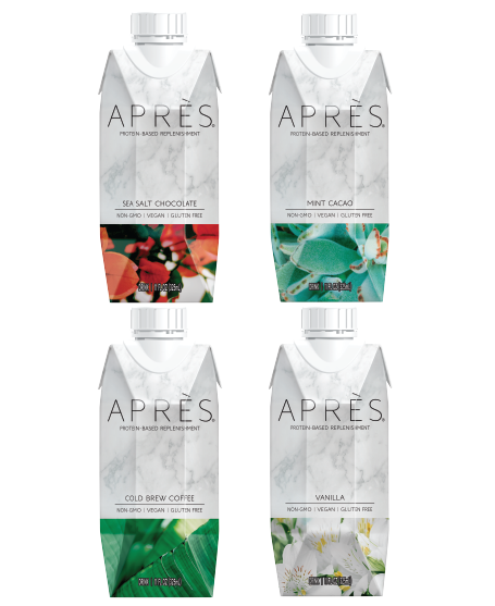 Drink Après 24 Variety Pack Protein-Based Replenishment Drink