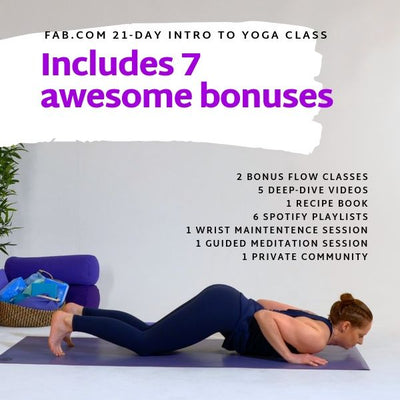21-Day Intro to Yoga Course
