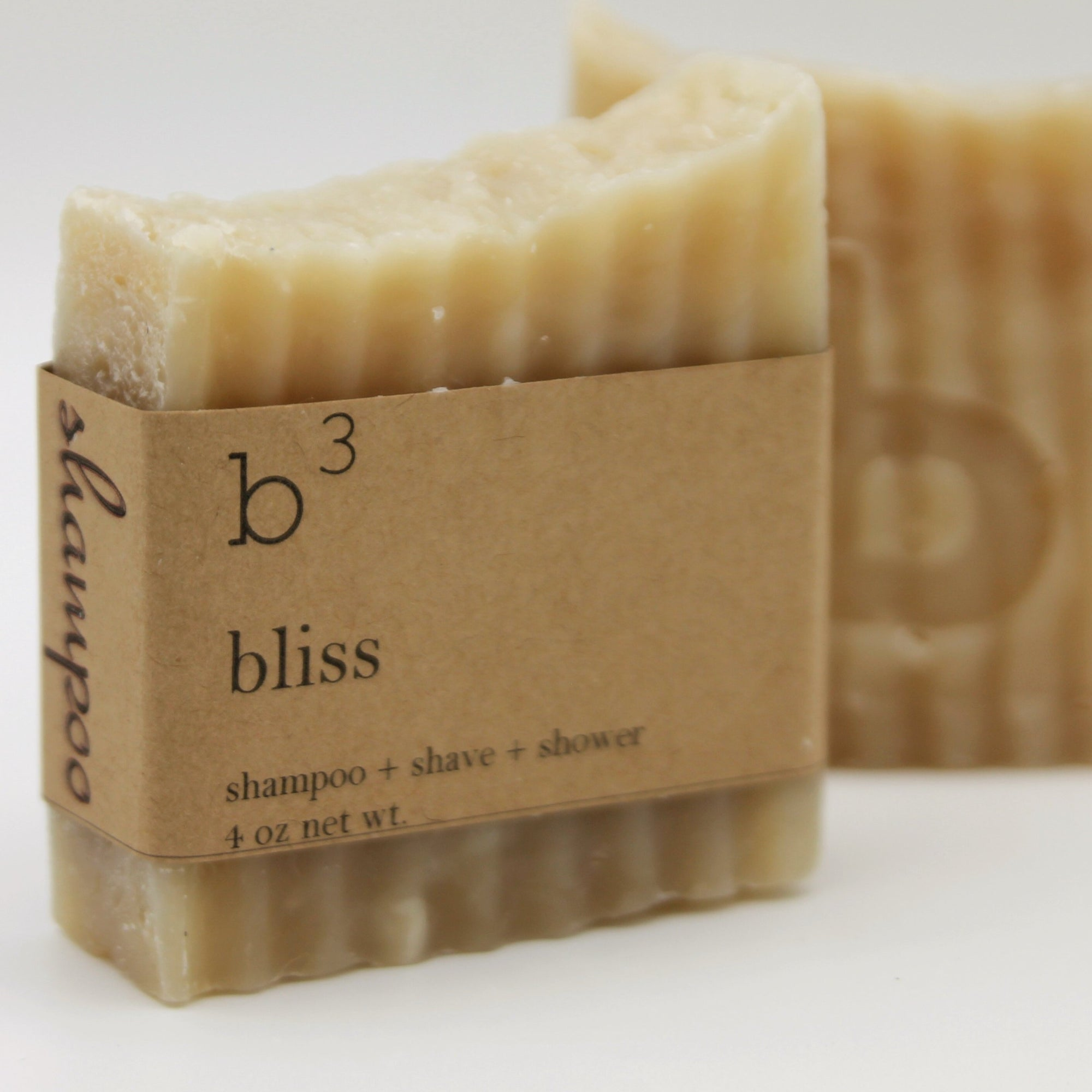 Natural Shampoo Bar - Bliss Almond & Coconut