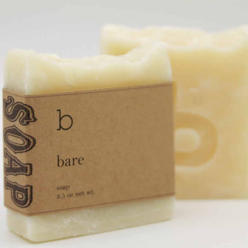 Bare - Natural Unscented Bar Soap
