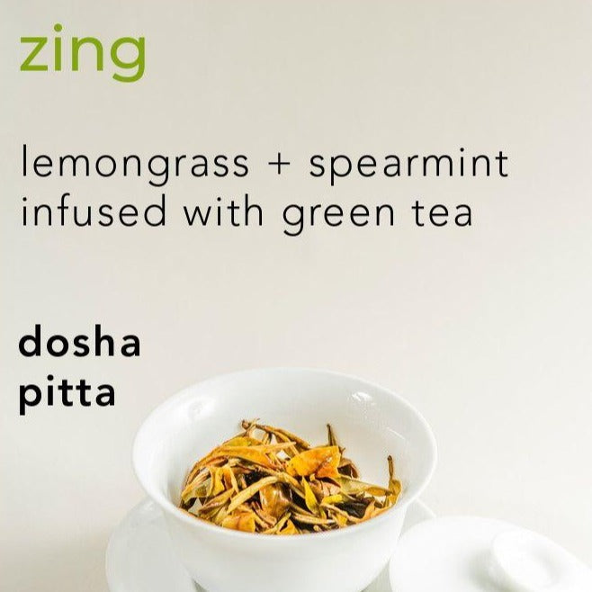 Zing Dosha Balancing Soap with Spearmint + Green Tea