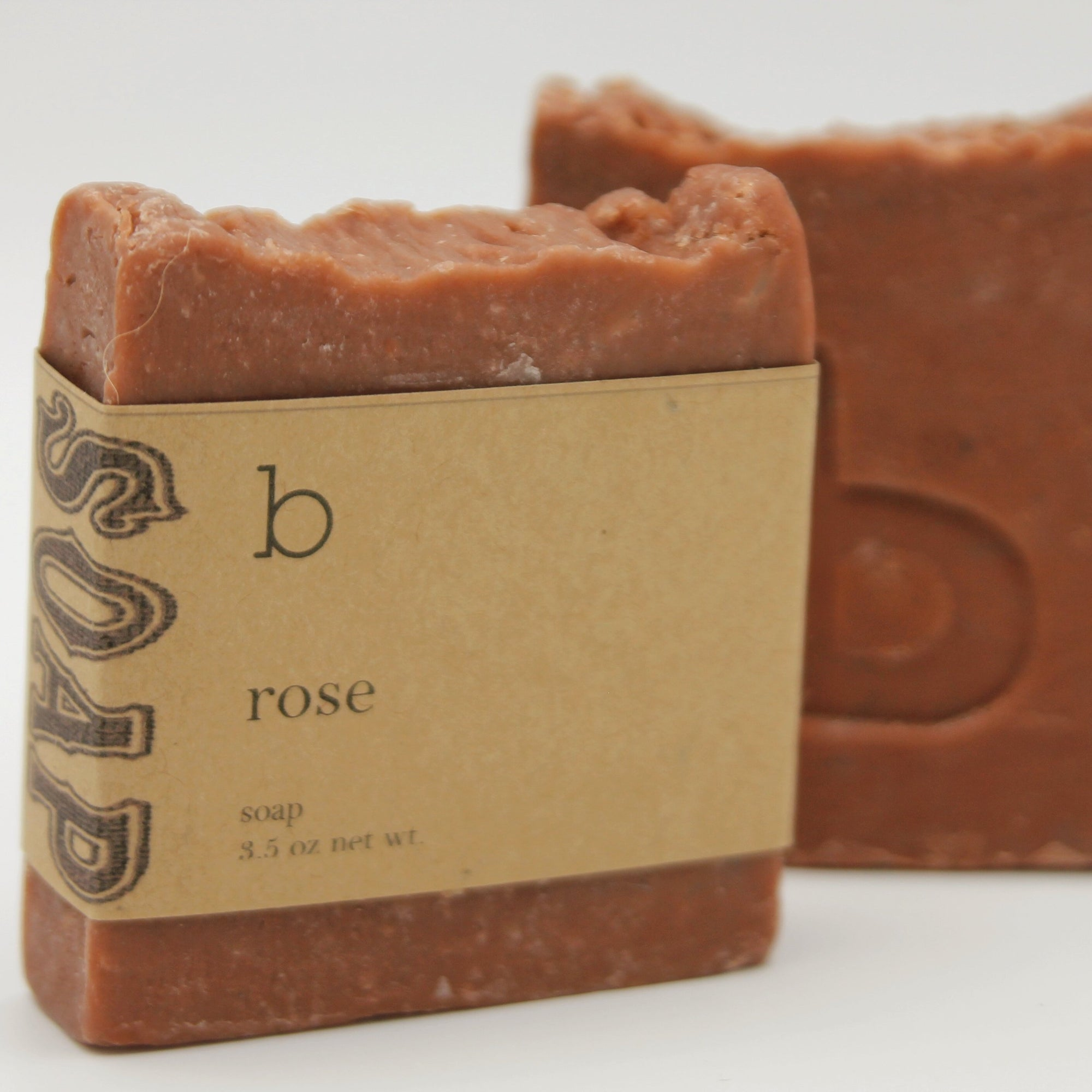 Rose Scented Soap with Moroccan Red Clay and Sugar