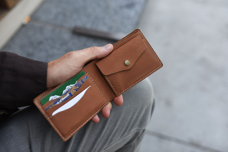 Coin Bifold (Brown)