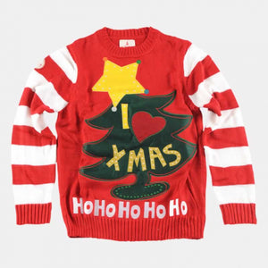 I Love Xmas Christmas Sweater