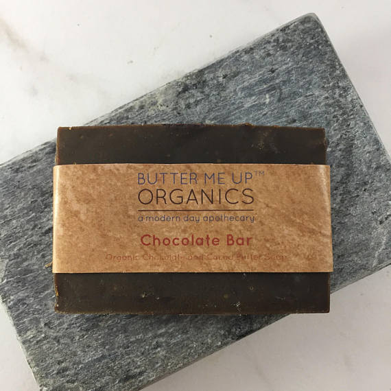 Chocolate All Over Organic Shampoo Bar