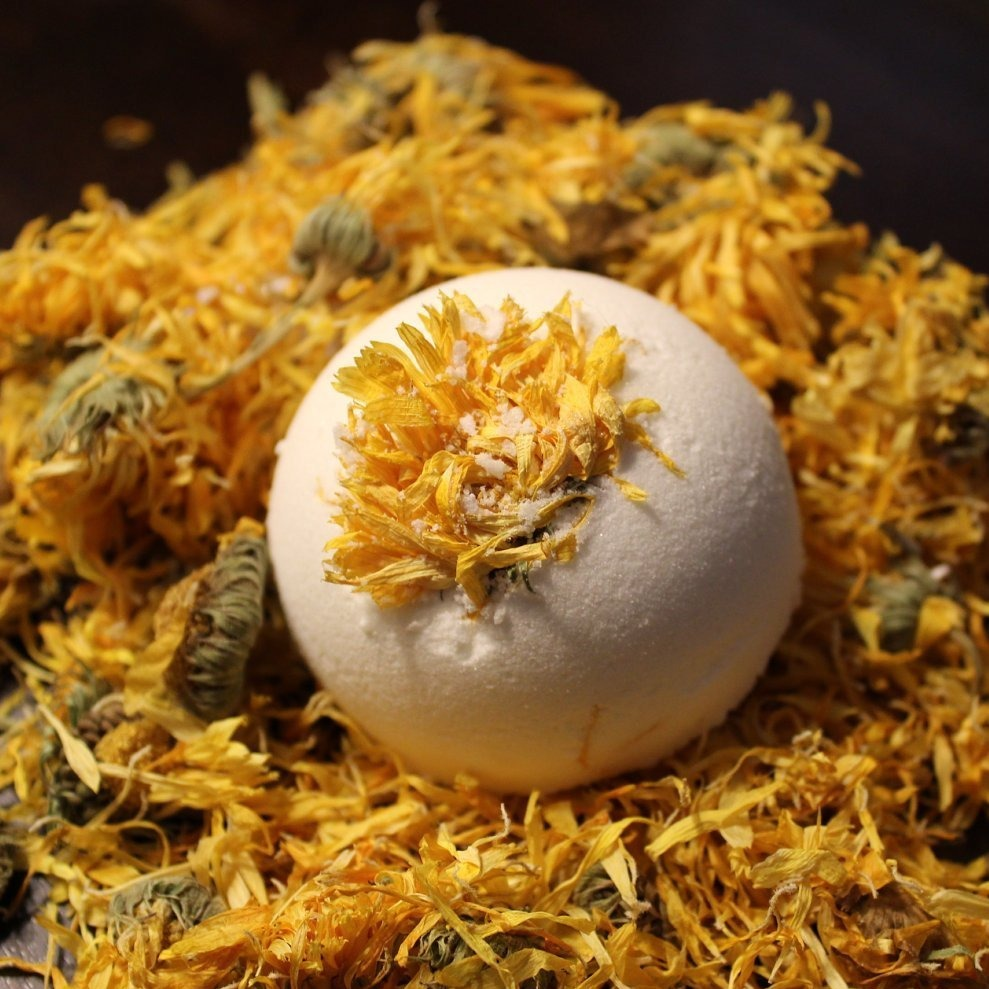 Get Well Soon Organic Bath Bomb