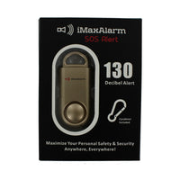 Portable Personal Security Alarm - Gold