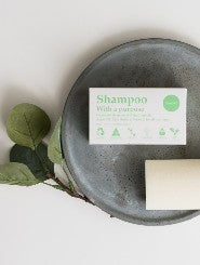 Shampoo with a purpose - sustainable shopping at BLAEK Store