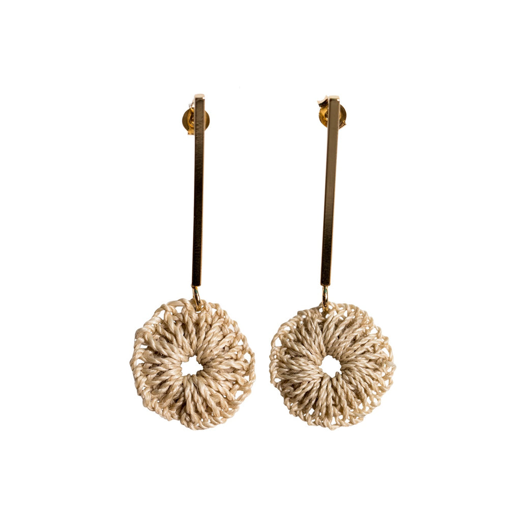 Rait Earrings - Gold