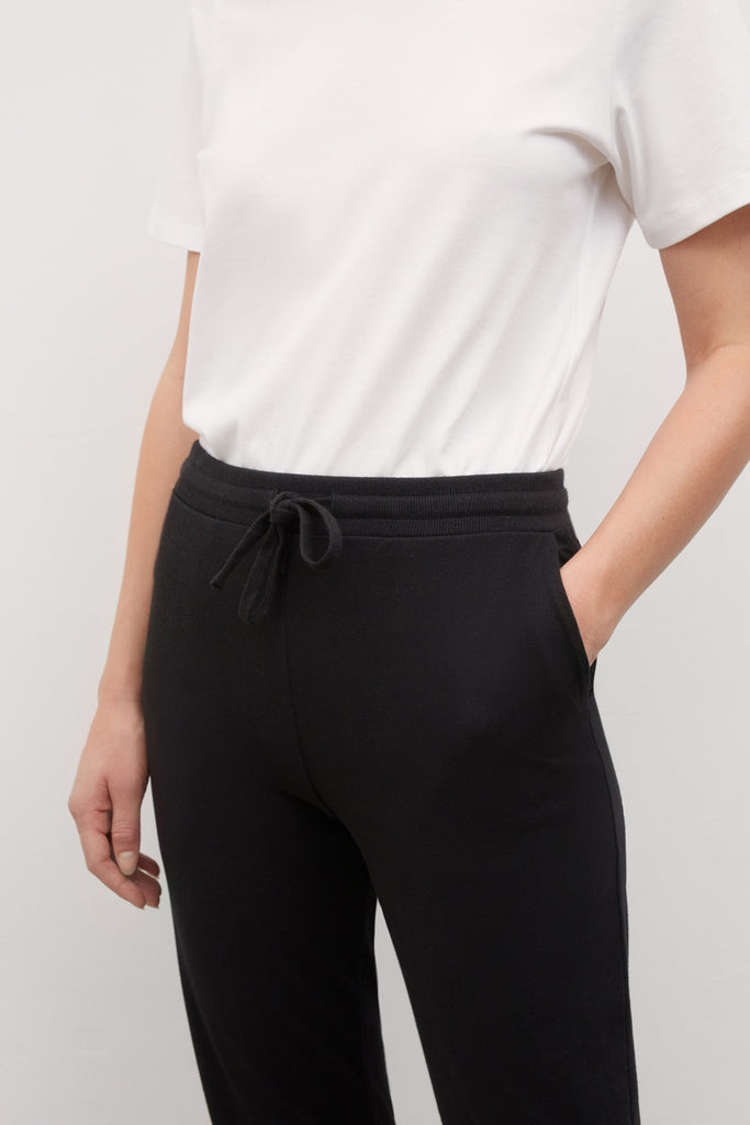 Black Building Block Pant