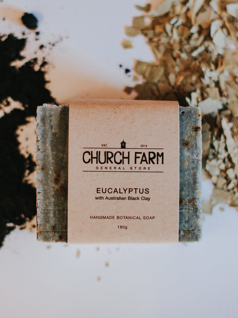Eucalyptus with Activated Coconut Charcoal Soap