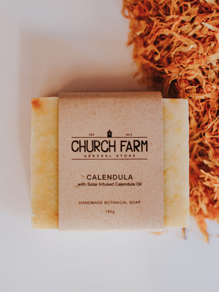 Calendula with Solar Infused Calendula Oil Soap