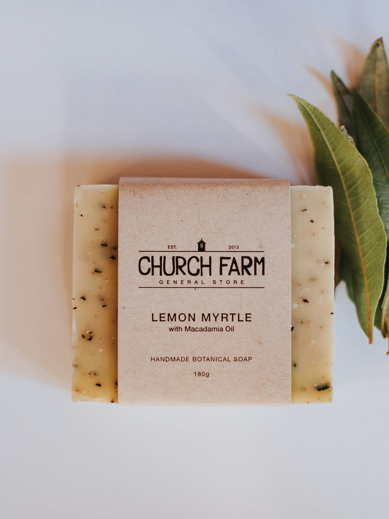 Lemon Myrtle with Macadamia Oil Soap