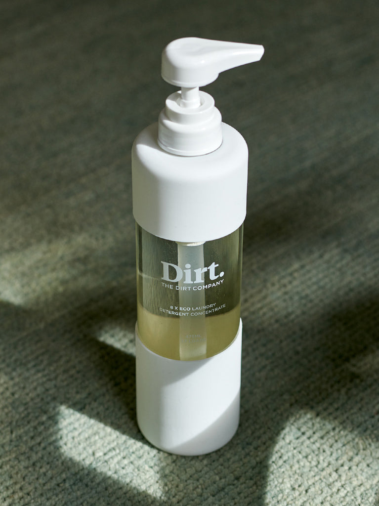 DIRT dispenser bottle