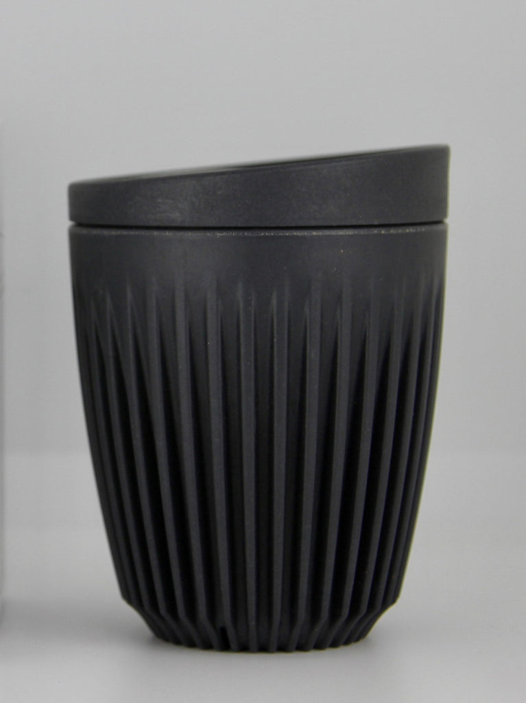 Huskee 8oz Reusable Cup - Charcoal