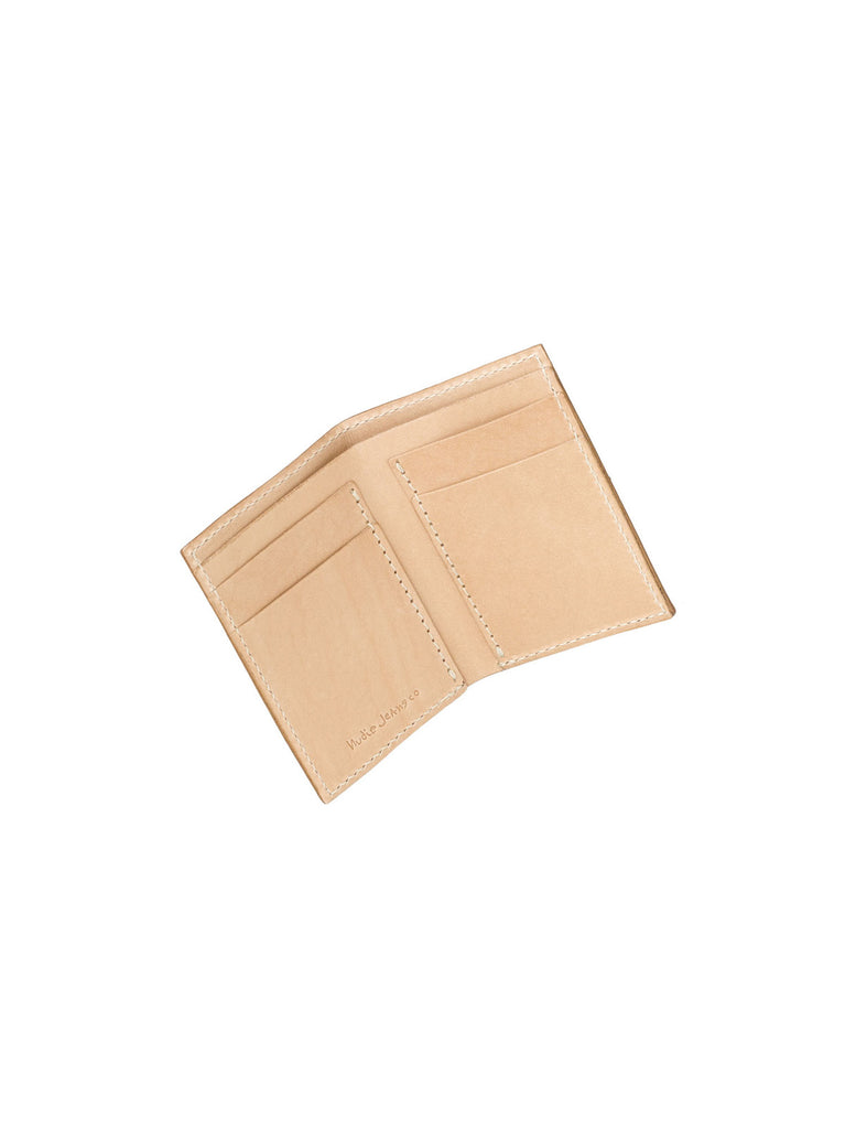 Hagdahl Wallet Saddle Leather - Natural
