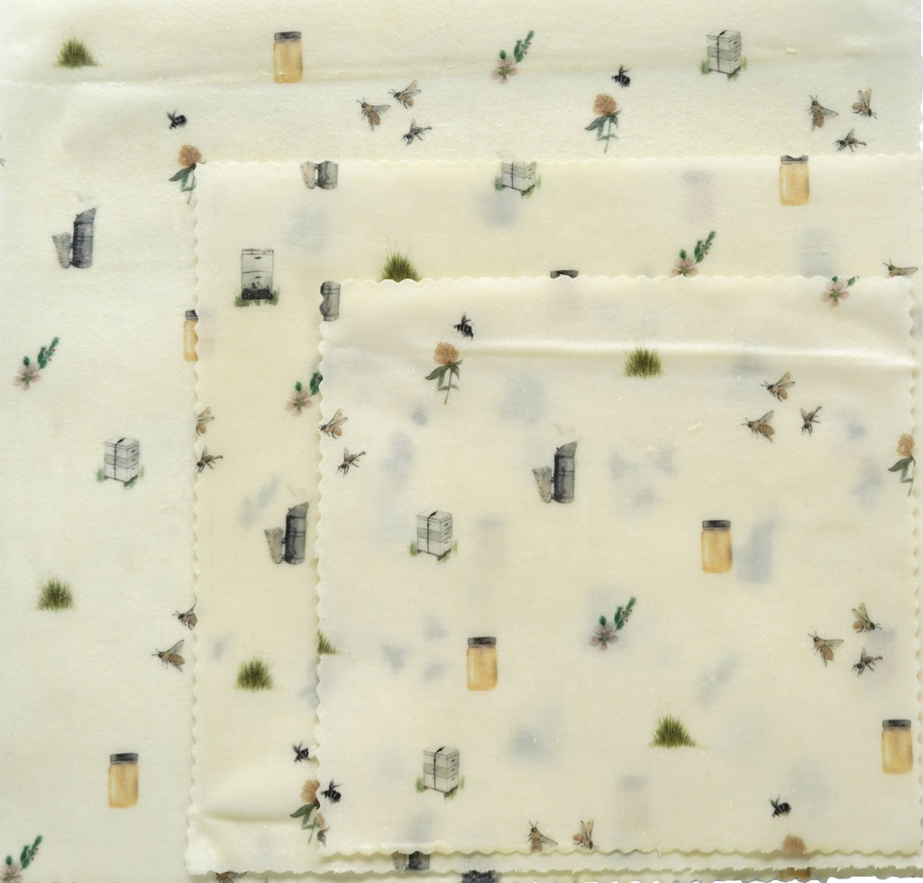 Beeswax Wraps - Apiary Made Print