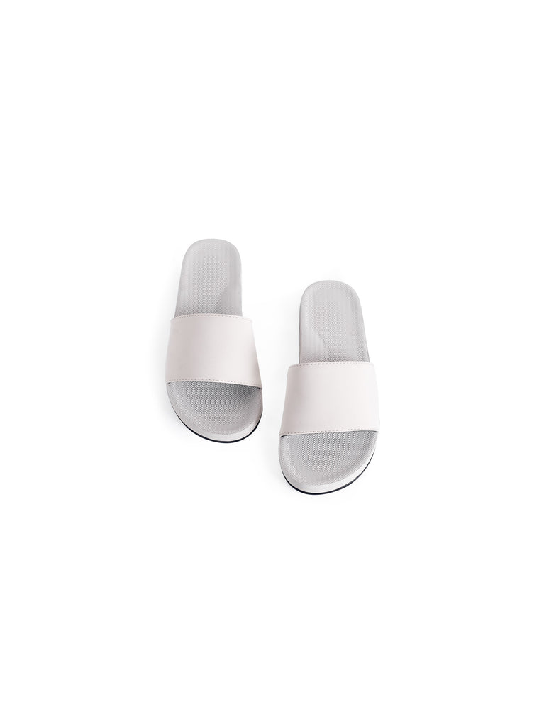 Womens ESSNTLS Slides - Sea Salt
