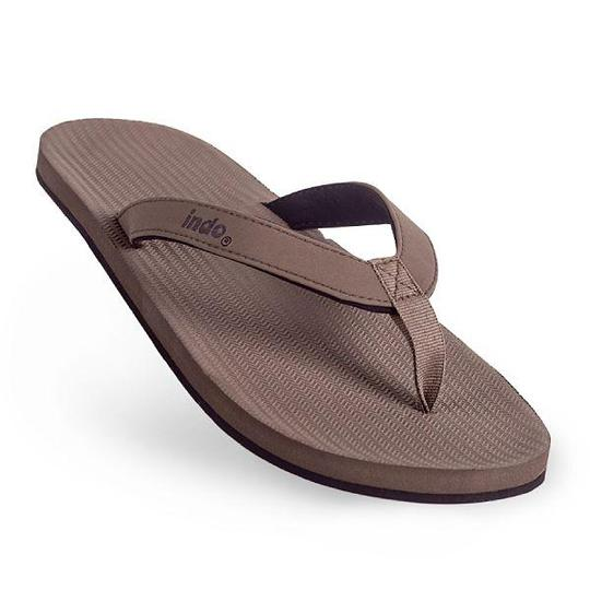 Mens ESSNTLS Thongs Full - Soil