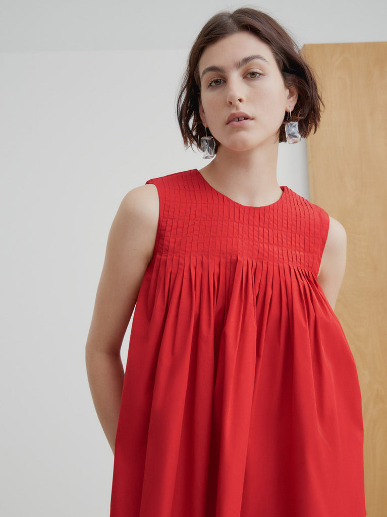 Repetition Top - Scarlet