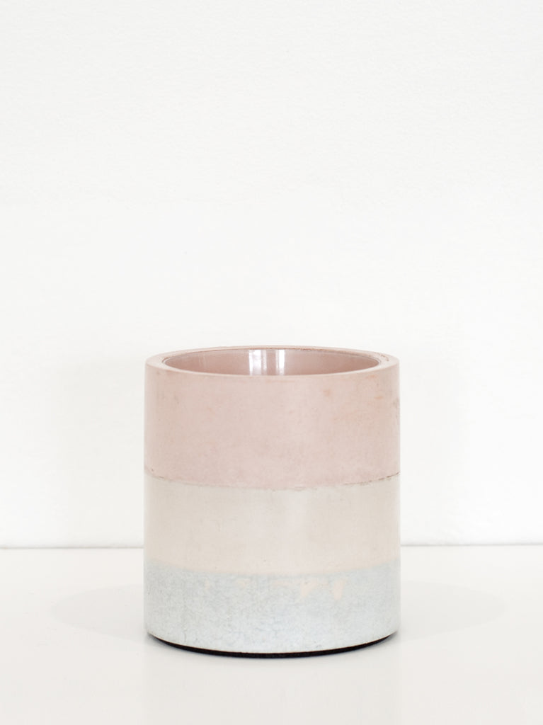 Small Vase - Light Terra, Light Sand, Light Sky