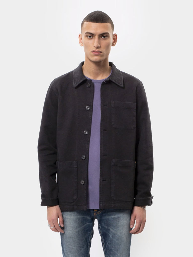 Barney Worker Jacket - Black